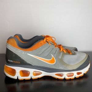 Nike Air Max Tailwind 2 Womens 12 orange grey